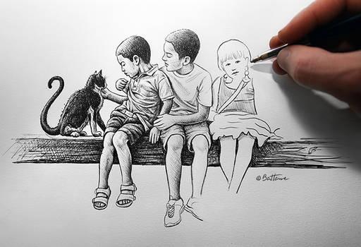 Children by BenHeine