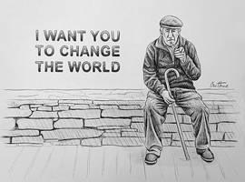Old Man's Wishes by BenHeine