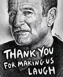 Robin Williams - Rip by BenHeine