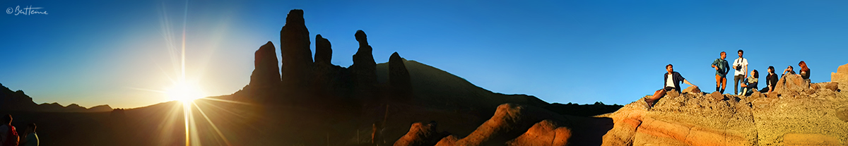 Sunset at El Teide by BenHeine