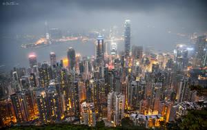 Hong Kong from the Peak