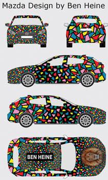 Mazda Design by Ben Heine 2015