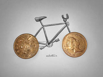 Competition (Bike and Coins)