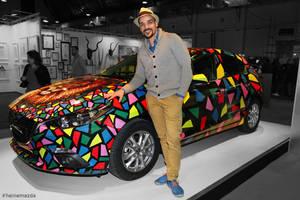 Ben Heine Art - Mazda 3 Car - Brussels Affordable