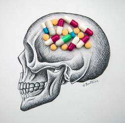Drug Addiction by BenHeine