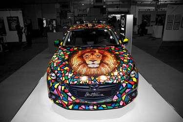 My Art on Mazda Car by BenHeine