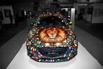 My Art on Mazda Car