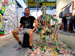 Ben Heine Art - Flesh and Acrylic 2016