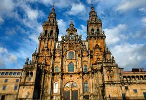 Santiago de Compostela Cathedral #benheinephotogra by BenHeine