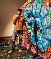 Flesh and Acrylic - Bozar Museum - Art Truc Troc by BenHeine