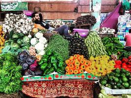 Souk in Morocco by BenHeine