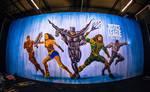 Ben Heine Art - Justice League - Warner Bros Belgi by BenHeine