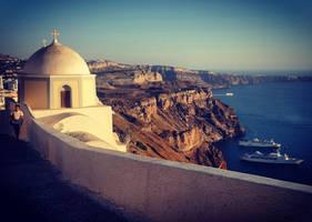 Beautiful Santorini by BenHeine
