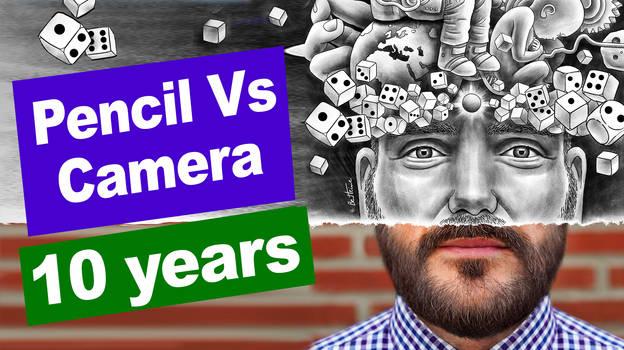 10 Years of my Pencil Vs Camera series - VIDEO