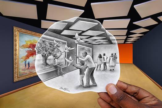Pencil Vs Camera - Monde des Flamboyants - TMB