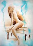 Watercolor Study - Ben Heine Art