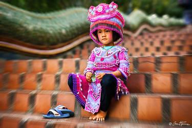 Thai Girl in Chiang Mai - Ben Heine Photography