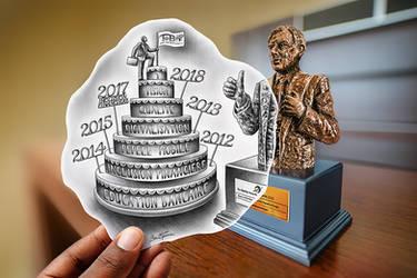 Pencil Vs Camera - TMB Banker Awards - BenHeineArt