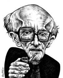 Mircea Eliade by BenHeine