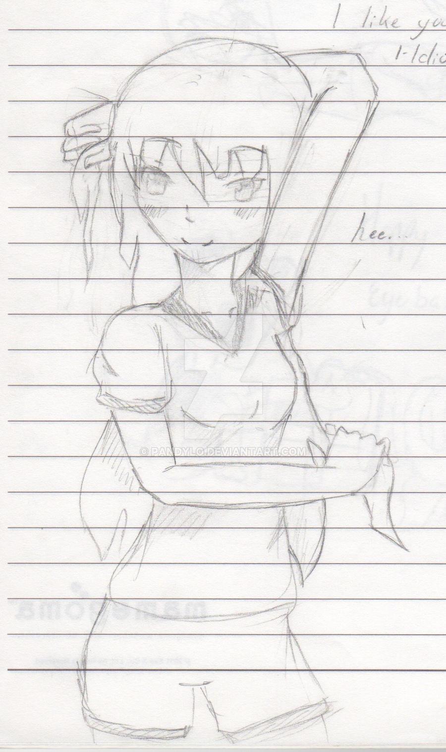 Naomi doodle by Pandylo
