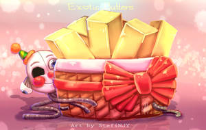 Exotic Butters and Ennard by StefiNJY