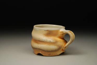 pulled spiral mug by brdgathrer