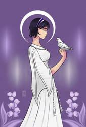 Jobie Holding Dove [Short Hair Version]