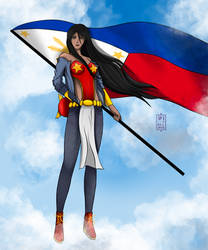 Darna Fanart: Philippine Independence Themed