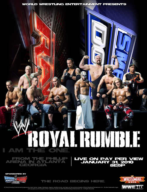 Royal Rumble 2010 Poster by terrathunder
