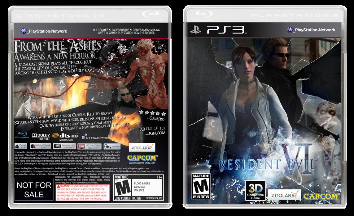 Resident Evil VI by terrathunder