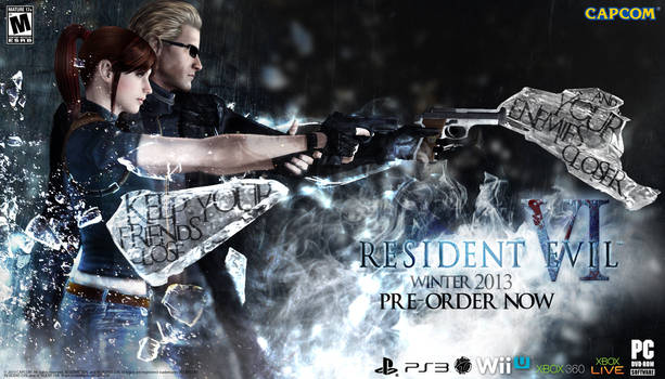 Resident Evil VI Promo Poster