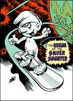 The Silver Smurfer by DavidAyala