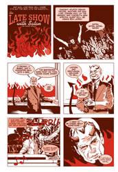 The Late Show With Satan by DavidAyala