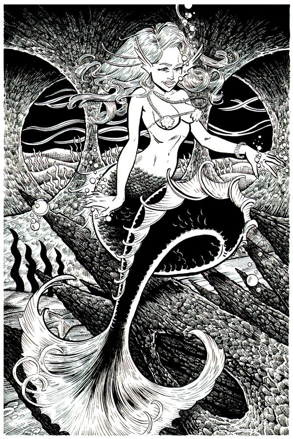 The Mermaids Cave Revisited by DavidAyala