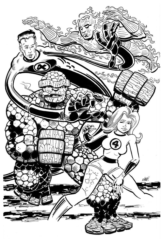 The Fantastic Four by DavidAyala