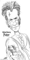 Dirty Harry Potter by DavidAyala
