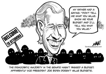 Biden values... by DavidAyala