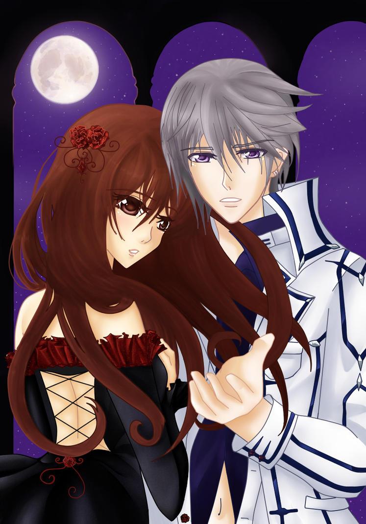 Vampire Knight - ZeroxYuuki by Ichigokitten