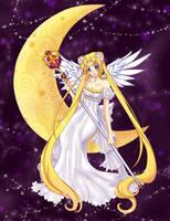 Sailor Moon-Princess Serenity by Ichigokitten