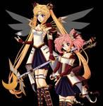 Steampunk Moon Princesses
