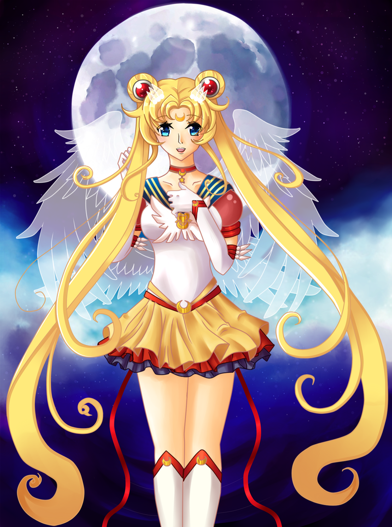 Eternal Sailor Moon by Ichigokitten