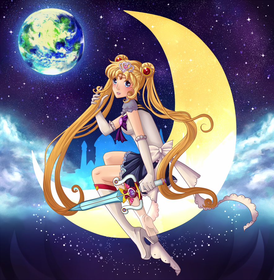 SW 2012 - Princess Sailor Moon by Ichigokitten