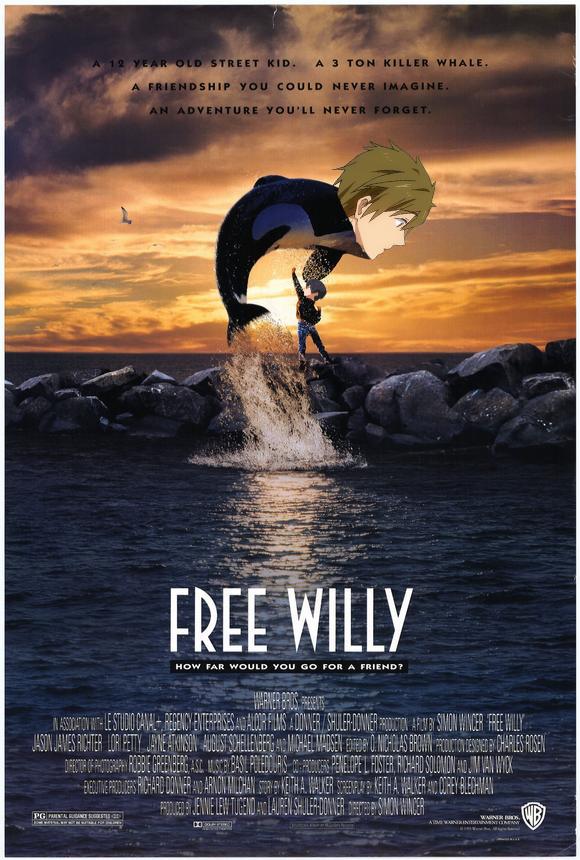 free willy 2 by zannenda on deviantart