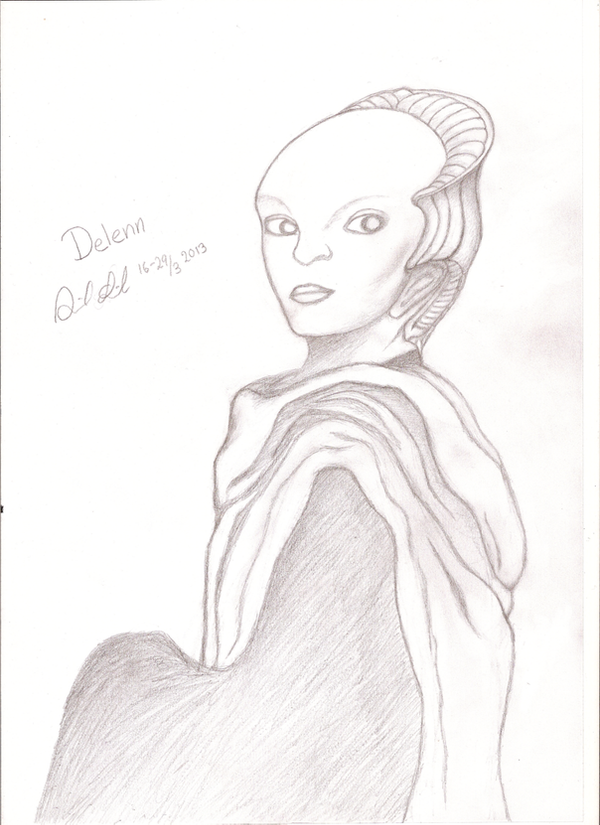 Proud Delenn by Salanta