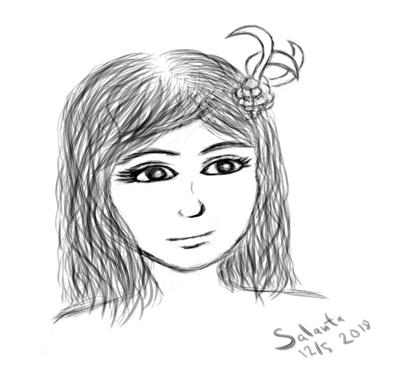 Krita sketch by Salanta