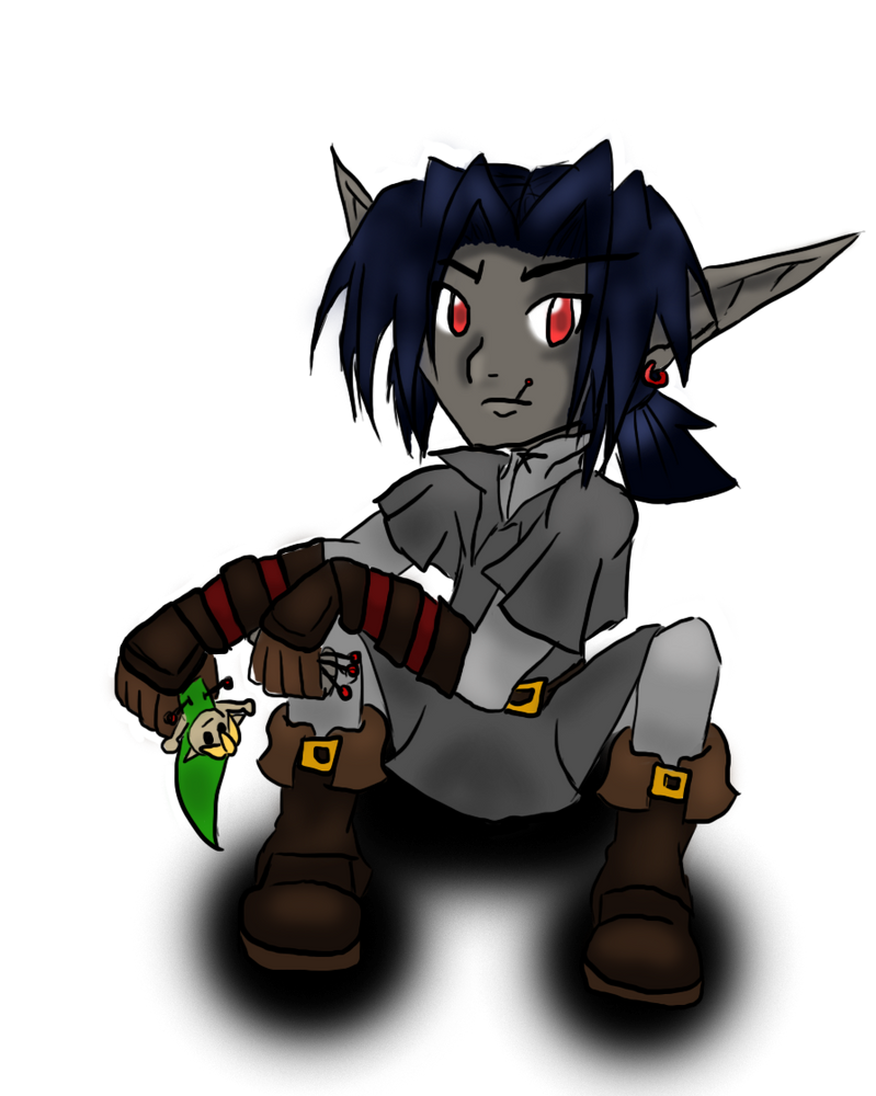 Dark Hylian Voodoo Colour by Midna-hime