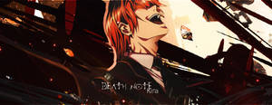 Kira Signature - Death Note by mazeko