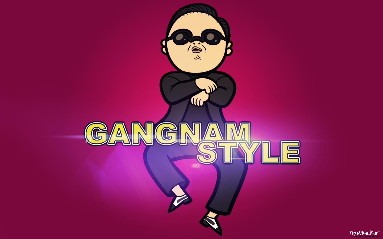 Gangnam Style Wallpaper by mazeko on deviantART