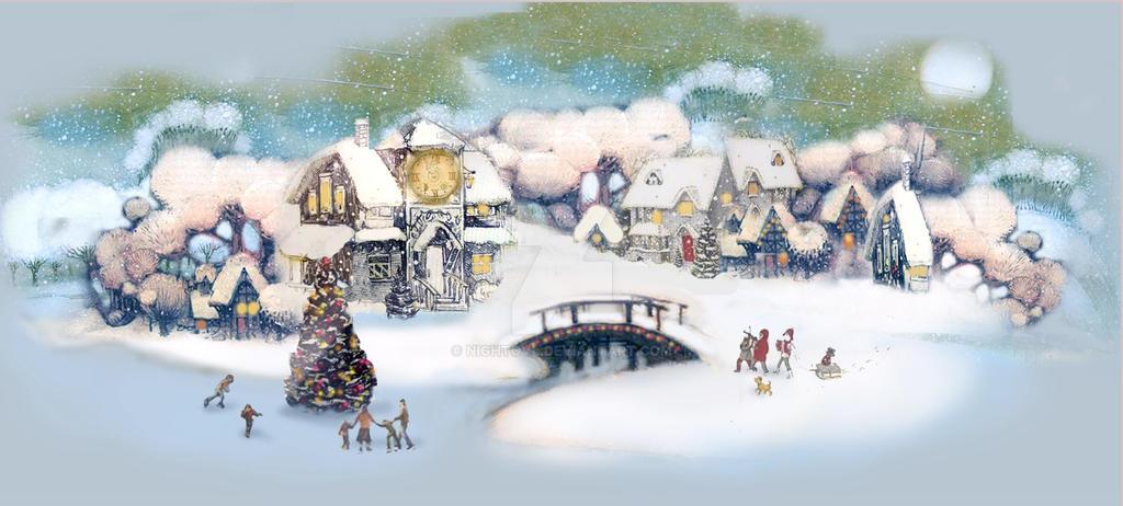 postcard new year by nightovl