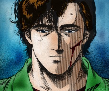 Ryo Saeba is sad by yhunterx on DeviantArt